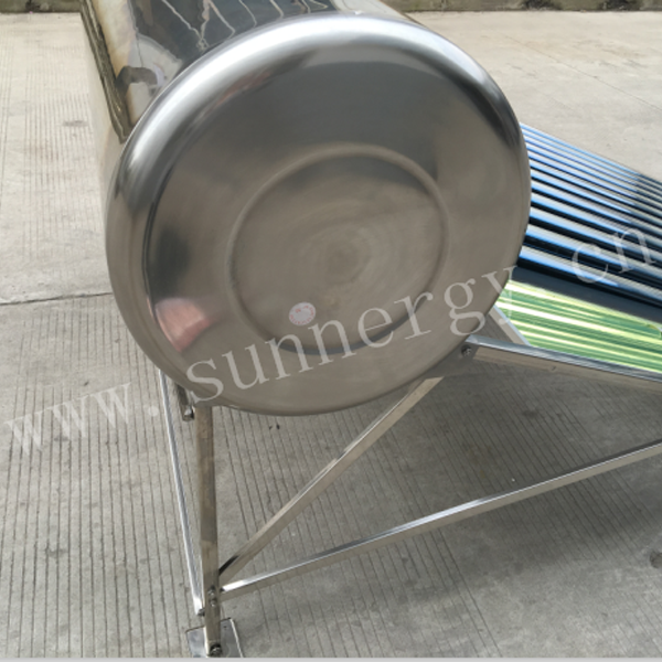 Compact Pressurized Stainless Steel Solar Water Heater
