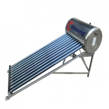 Compact Unpressurized Stainless Steel Solar Water Heater