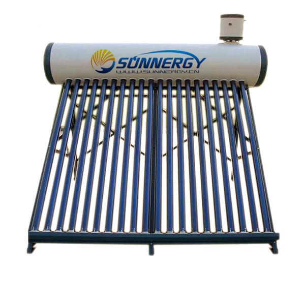 Compact Unpressurized Galvanized Steel Solar Water Heater
