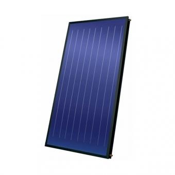 Blue Titanium Flat Plate Solar Collecor