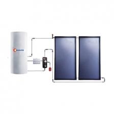 Split Flat Plate Solat Water Heater System